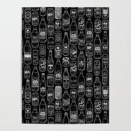 Seltzer Crazy Black Poster
