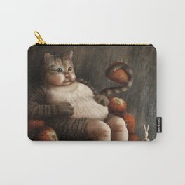 03 Dreamy Bunny and the Big Fat Cat Carry-All Pouch