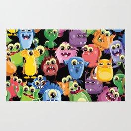 cute monsters Rug
