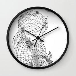 Chemical Girl Wall Clock