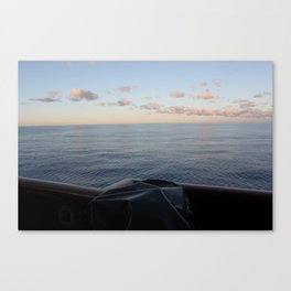 South Pacific Water Canvas Print