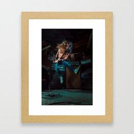 Rainbow in the Dark Framed Art Print