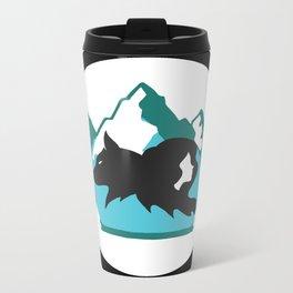 Goldilocks and the Wolf Metal Travel Mug