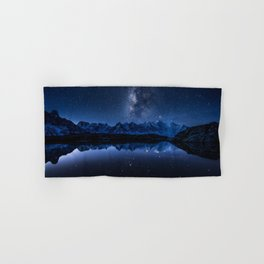 Night mountains Hand & Bath Towel