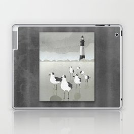 Seagulls Lighthouse Laptop & iPad Skin