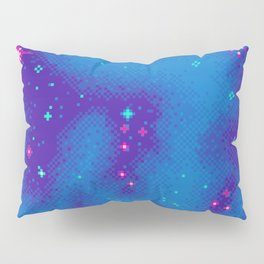 Indigo Nebula (8bit) Pillow Sham