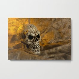 Skull And Sackcloth Metal Print