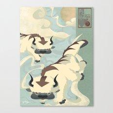 Original Bending Masters Series: Sky Bison Canvas Print