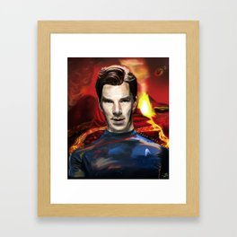 John Harrison - You think your world is safe Framed Art Print