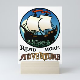 Read More Adventure Mini Art Print