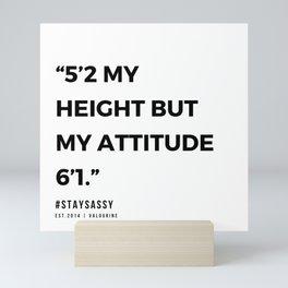 29    | Sassy Quotes | 190914 Mini Art Print