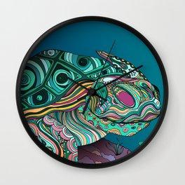 Zen Turtle Bohemian Patterns Wall Clock