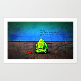 Just Getting By Art Print
