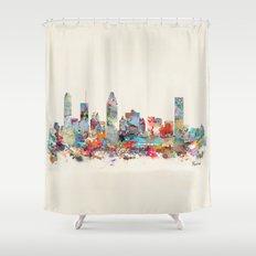 Montreal Quebec skyline Shower Curtain