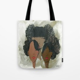 Afro Puff Girls Tote Bag
