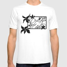 Octo Tee Shirt SMALL White Mens Fitted Tee