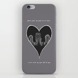 Can't Take My Eyes Off Of You iPhone Skin