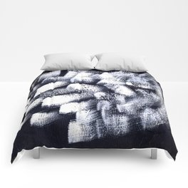 Black and white 2 Comforters