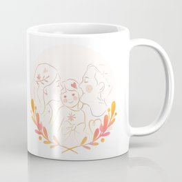 Family kiss sandwich Coffee Mug