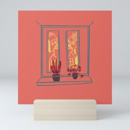 Window Shelfie Mini Art Print