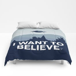 My X-files: I want to believe poster Comforters