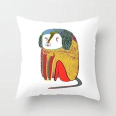 Dog. dogs, dog art, dog illustration, design Throw Pillow