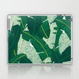 Classic Banana Leaves in Palm Springs Green Laptop & iPad Skin
