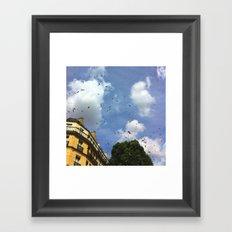 Paris Confetti Framed Art Print