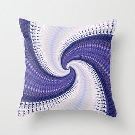 Spiral In Throw Pillow