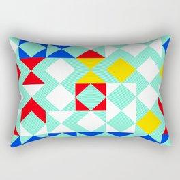 Geometric XVI Rectangular Pillow