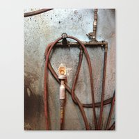 tool Canvas Prints featuring TIRE TOOL by Dan Brennan