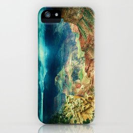 Grand Canyon Digital Paint iPhone Case