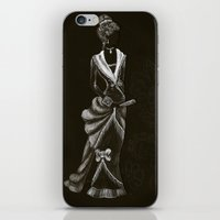 victorian iPhone & iPod Skins featuring Victorian  by Red, the artist