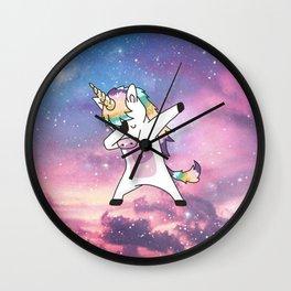 Unicorn galaxy Wall Clock
