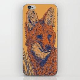 Maned Wolf iPhone Skin
