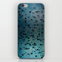 grid iPhone & iPod Skins featuring Grid by Tayler Smith