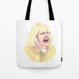 Drew Barrymore, Scream - Casey Tote Bag
