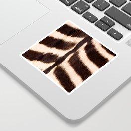 Zebra - zebra stripes -zebra skin - genuine - beautiful  Sticker