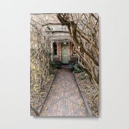Old Door - Launceston Metal Print