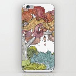 Cocoon Tree iPhone Skin