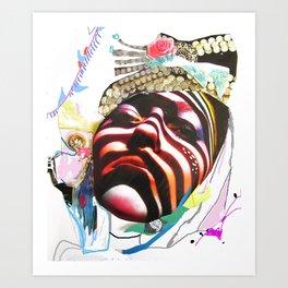 MAdame madAme Art Print