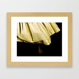 dancing feet Framed Art Print