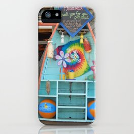Beach Bum Cafe iPhone Case
