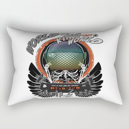 The Black Wings of the King of the World Rectangular Pillow