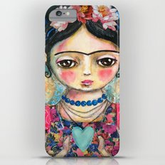 The heart of Frida Kahlo  Slim Case iPhone 6s Plus