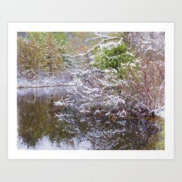 Boardman Lake  Art Print