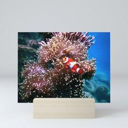 Tropical Undersea Anemone Sea Life Mini Art Print