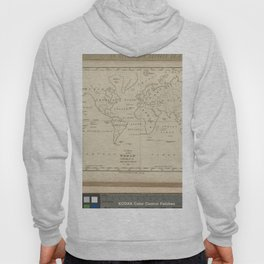A map of the world, exhibiting all the new discoveries, 1794 Hoody