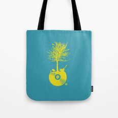 Vinyl Tree Tote Bag