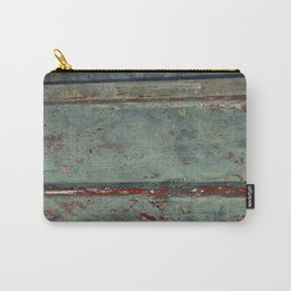 Boat Wood Paint Texture Cornwall Carry-All Pouch